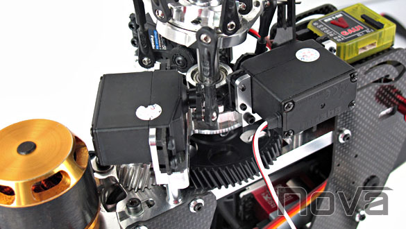 Nova Goblin 500 Standard Size Servo Mounts Zen Rc