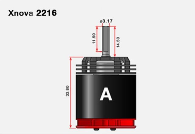 xnova 2216 shaft